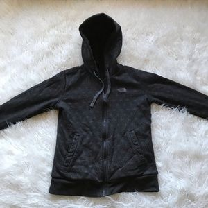 North Face Black/Gray Shout Out Reversible Hoodie